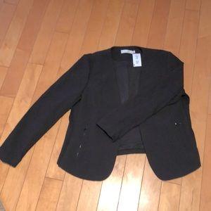 BOGO FREE NWT Rickis black blazer zipper detail XL